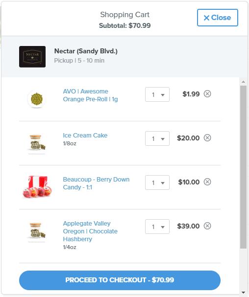 dutchie cannabis online ordering