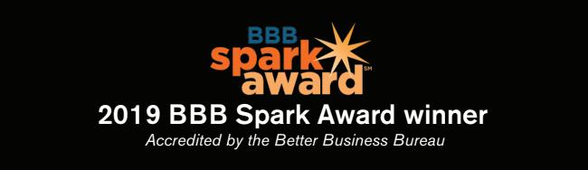 BBB Spark Award Winner 2019