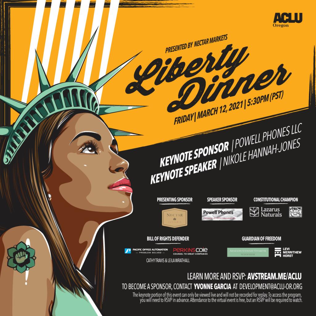 ACLU Oregon Liberty Dinner 2021