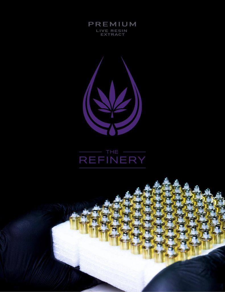 The Refinery vape cartridges